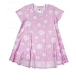 Esme Pink Smiley Lounge Dress