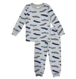 Esme Grey Cars Infant PJ Set