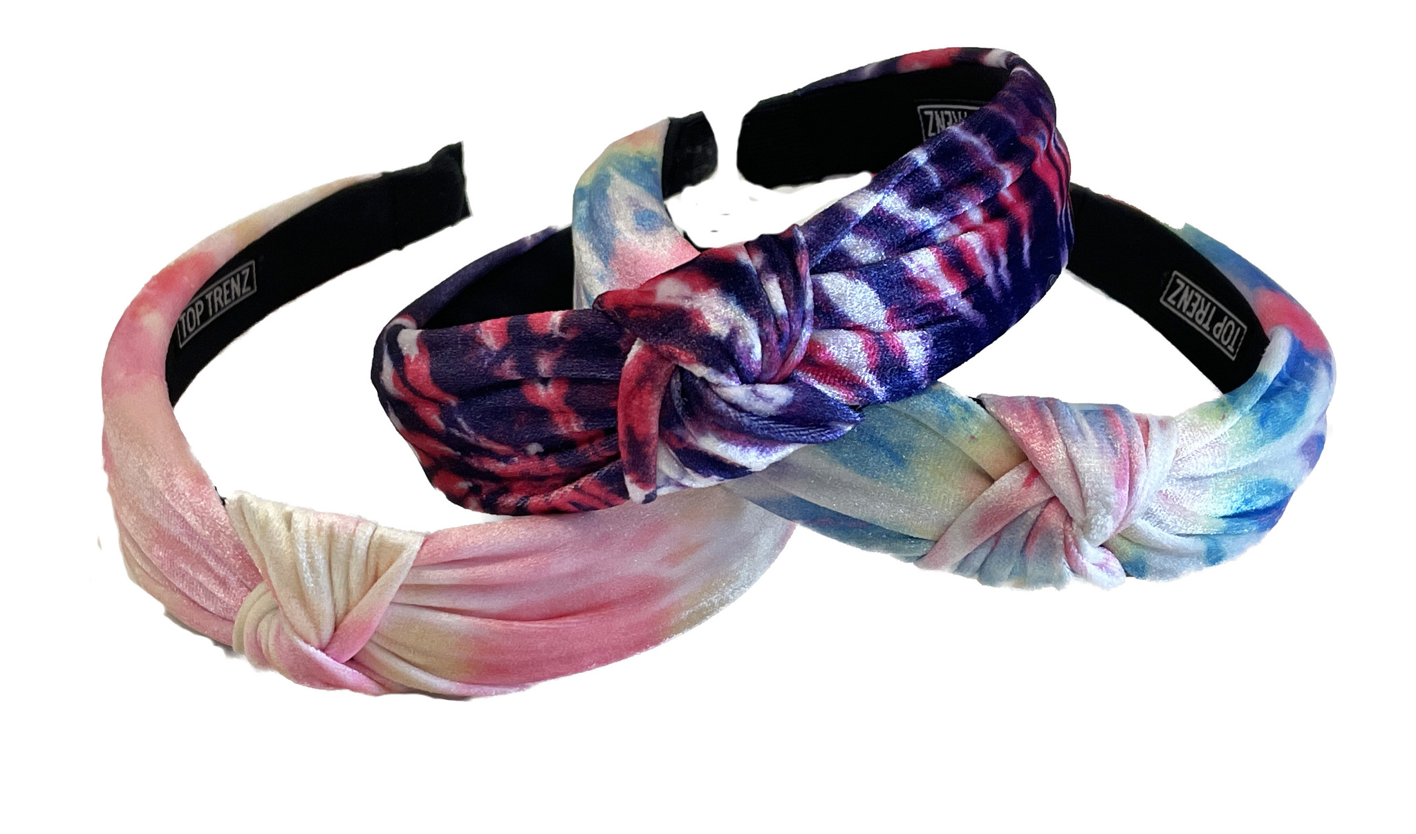 New Tie Dye Knot Headbands - 4 options