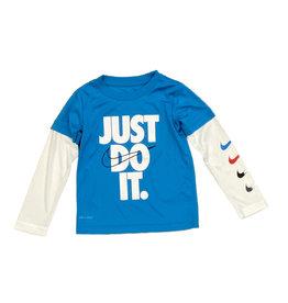 Nike Laser Blue Do It Twofer Tee