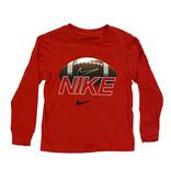 Nike Red Football LS Tee