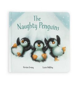Jellycat The Naughty Penguins Story Book