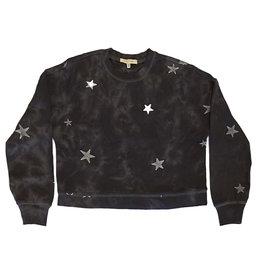 Z Supply Black Cloud Star Sweatshirt