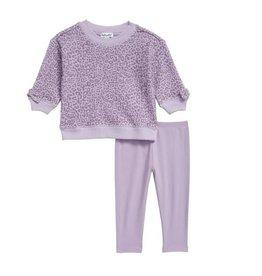 Splendid Lilac Leopard Infant Set