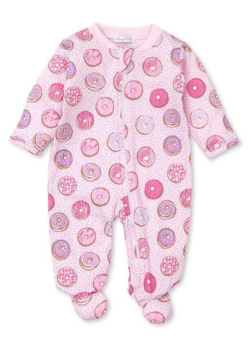 Kissy Kissy Pink Donut Footie