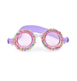 Sprinkled Donut Swim Goggles
