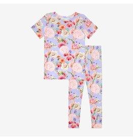 Posh Peanut Bellamy Floral Two Piece Loungewear Set