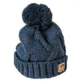 Appaman Navy Knit Pom Hat