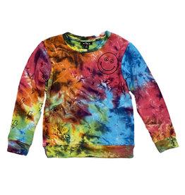 Flowers by Zoe Rainbow TD Smile Sweatshirt