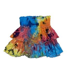 Flowers by Zoe Rainbow TD Skirt