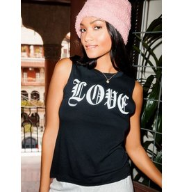 Chaser Gothic Love Tank Top - junior