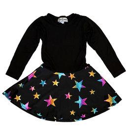 Dori Multi Foil Star Dress