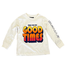 Tiny Whales Good Times LS Tee