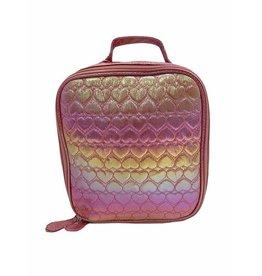 Bari Lynn Pink Heart Lunchbox