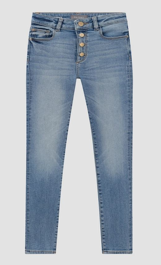 DL1961 Chloe Skinny Button Fly Jeans