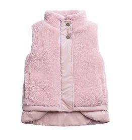 Imoga Pink Felicia Faux Fur Vest