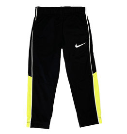 Nike Blk/Flo Yellow Side Stripe Tod. Jogger