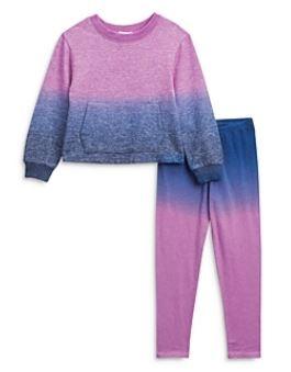 Splendid Violet Dip Dye Legging Set