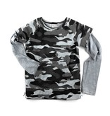 Appaman Grey Camo Freestyle Sweatshirt