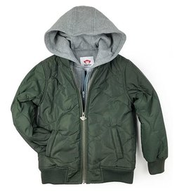 Appaman Green BX Bomber Jacket