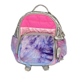 Bari Lynn Pink Bubble Tie Dye Mini Backpack
