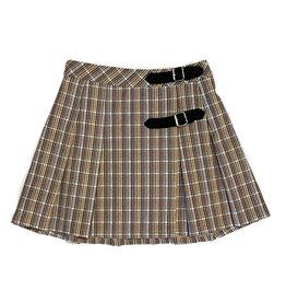 Katie J NYC Brittany Plaid Skirt