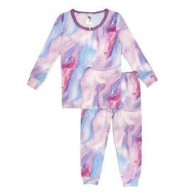 Esme Pink/Purple Marble PJ Set