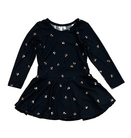 Sofi Black Floral Dress