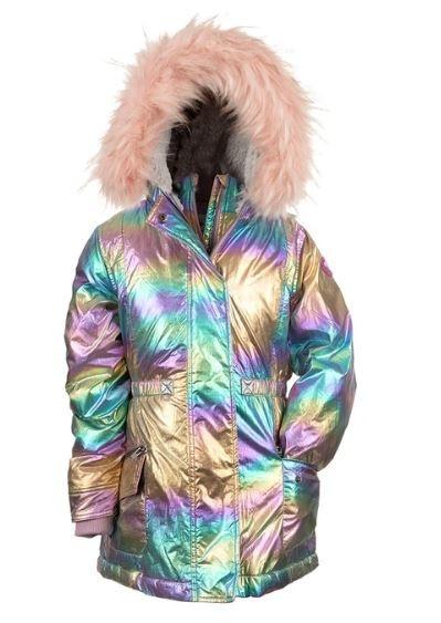 Appaman Rainbow Ombre Puffer Coat