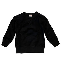 Mish Black Brushed Fleece Infant Sweatshirt