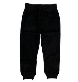 Mish Black Brushed Fleece Infant Jogger
