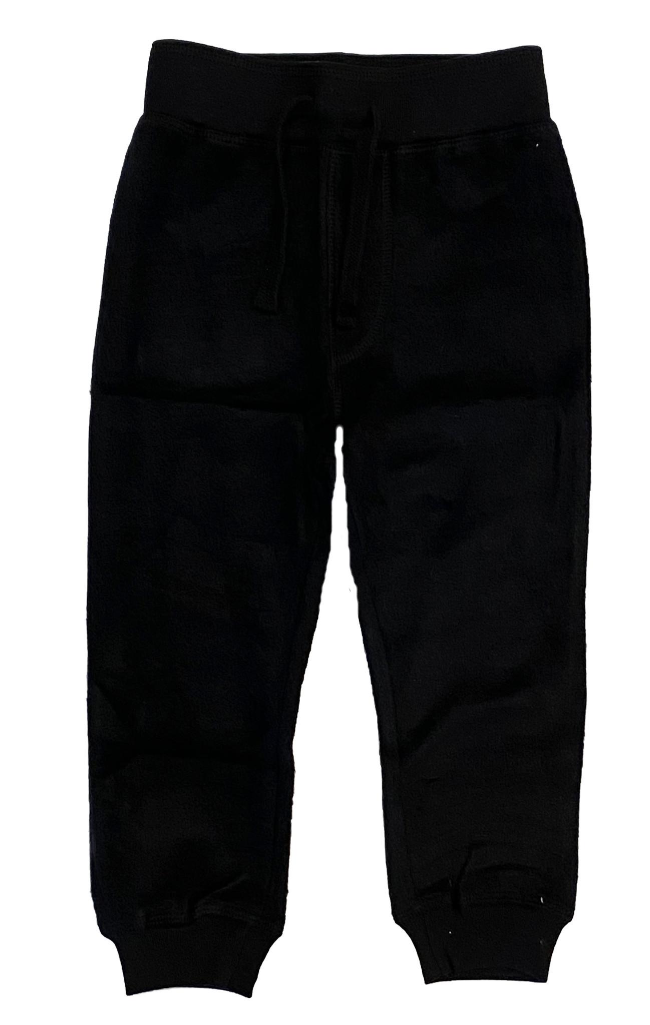Mish Black Brushed Fleece Jogger