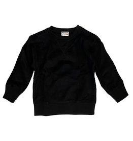 Mish Black Brushed Fleece Sweatshirt