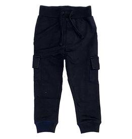 Mish Navy Cargo Pocket Infant Jogger