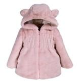 Widgeon Ruched Ear Faux Fur Coat