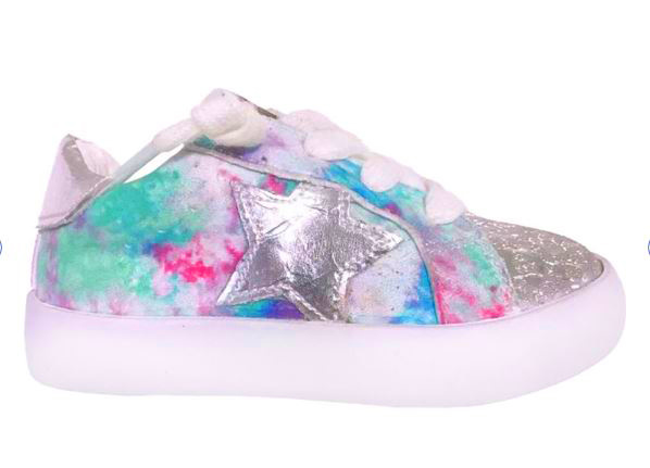 StyleChild Samara Multi Silver Sneaker