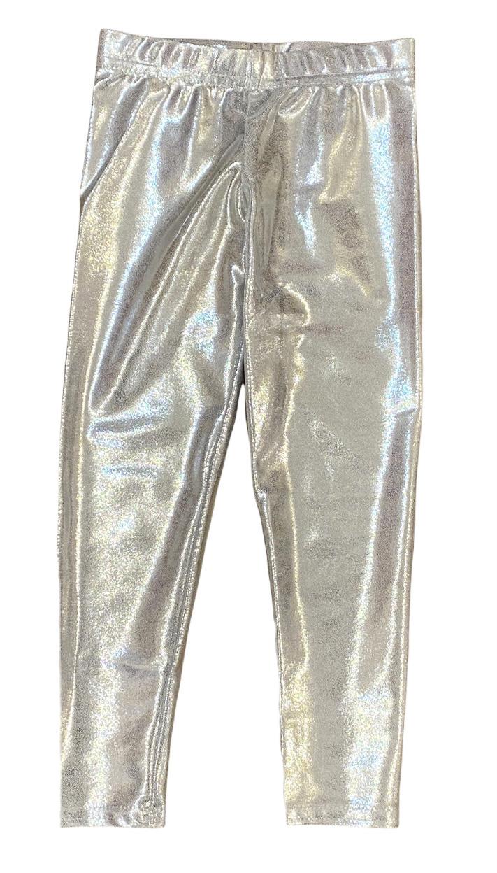 Dori Silver Lame Legging