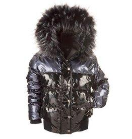 Appaman Kyla Black Puffer Coat