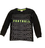 Mish Black Touchdown Thermal Infant Top