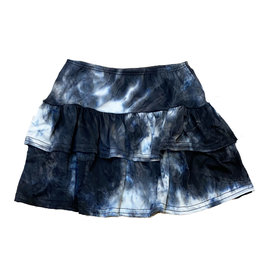 Dori Black/Blue Tie Dye Skirt