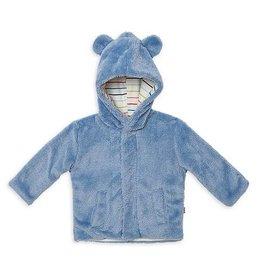 Magnetic Me Dusk Blue Minky Fleece Jacket