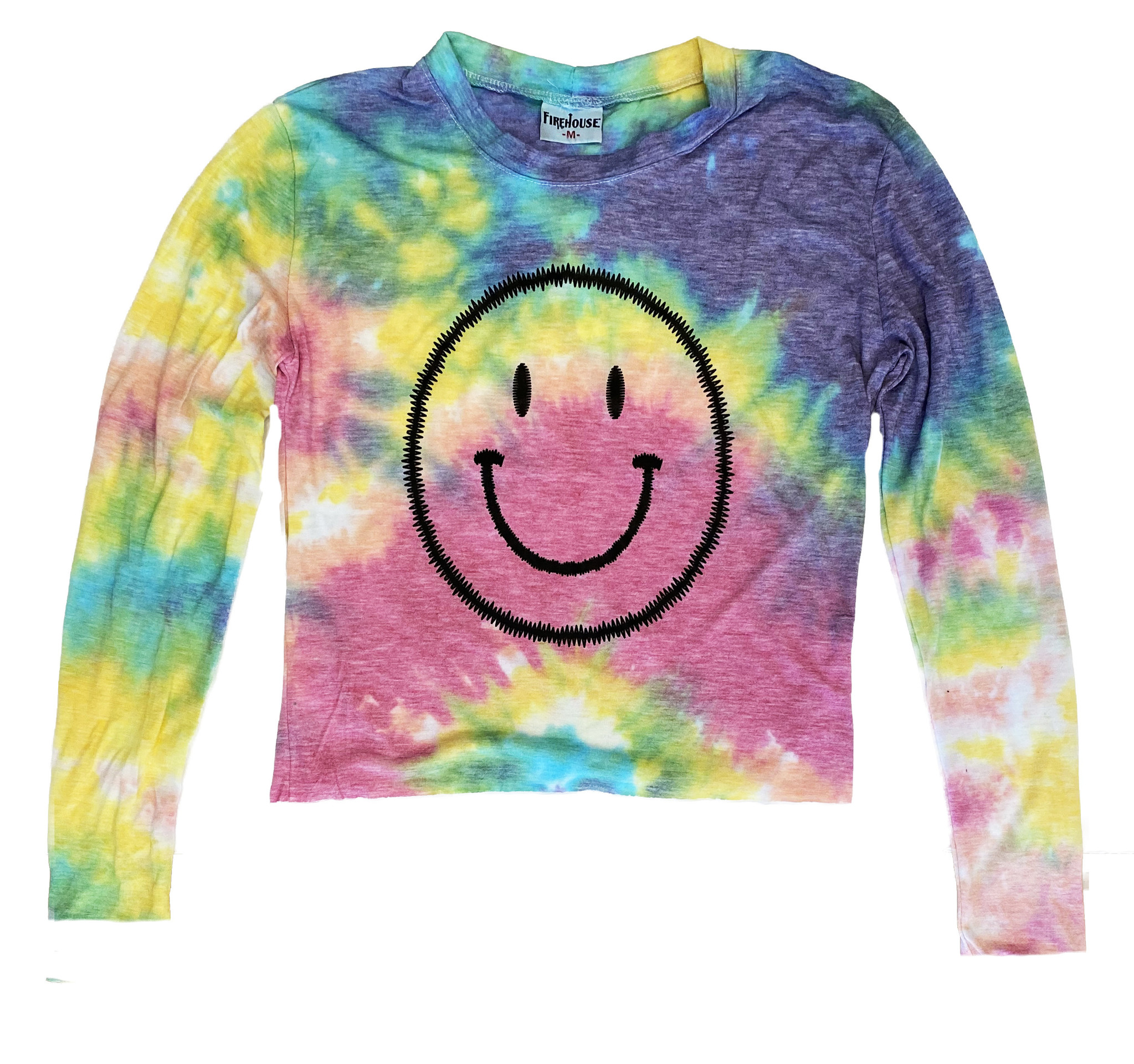 Firehouse TD Stitch Smiley LS Tee