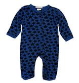 Baby Steps Cobalt Black Stars Footie