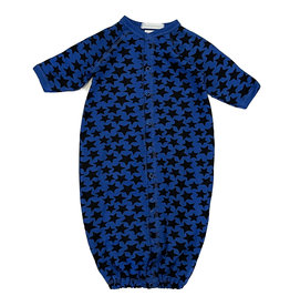 Baby Steps Cobalt Black Stars Converter Gown
