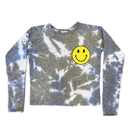 Firehouse Olive/Blue Yellow Smiley Face Sweatshirt