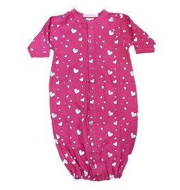 Baby Steps Bubblegum Foil Hearts Converter Gown