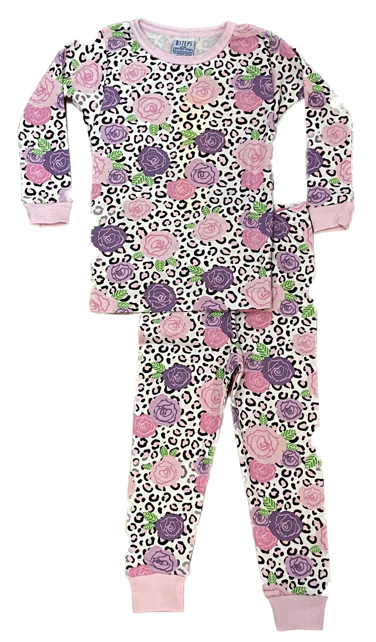 Baby Steps Wild Flower Infant PJ Set