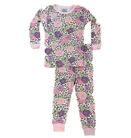 Baby Steps Wild Flower PJ Set