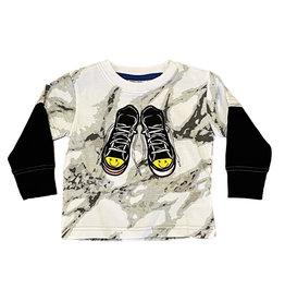 Mish Marble Sneaker Infant Tee