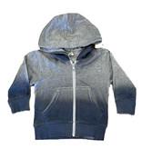 Mish Grey/Denim Ombre Infant Zip Hoodie